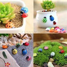 100pcs Mini Mix Color Ladybird Lady Bugs Scrapbooking Craft Home Decoration DIY
