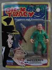 Dick Tracy Coppers & Gangsters Influence Action Figure Playmates Disney 1990 Nib
