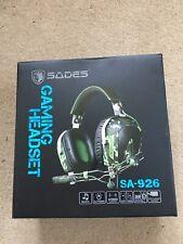 Gaming Headset Sades SA-926