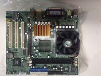 HP 5187-2615 N1996 Motherboard W/ AMD Athlon AXDA2200DUV3C CPU & 256MB DDR RAM.
