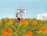 PEANUTS Great Pumpkin Limited Edition of 150 Animation Cel signed Melendez mlc02
