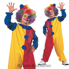 Clown Boys Costume Halloween Party Fancy Dress Medium