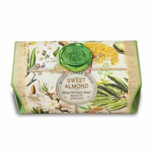 Michel Design Works Large 8.7 oz Artisanal Bar Bath Soap Sweet Almond - NEW