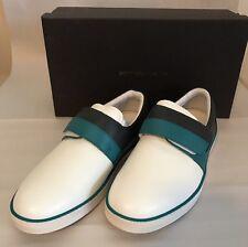 NIB Bottega Veneta Mens Leather Slip-on Sneakers Canard/Ardo 9 US (42 EUR) Italy