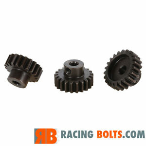 Mod1 Hard Alloy Steel Pinion Gear 5mm shaft for Ebuggy 1/8th Off / On road Mod 1