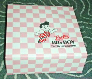 NEW! Bob's Big Boy Restaurant Take Out Box