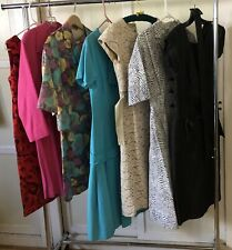 Vintage 50s 60s Lot of 6 Dresses Day Cocktail Party Jackie O Suit Wedding Resale