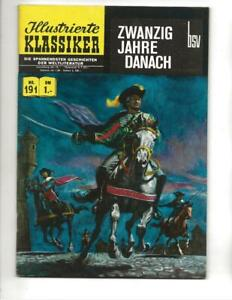 Illustrierte Klassiker #191 1960's German Classics Illustrated Twenty Years Late
