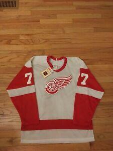 Paul Coffey Detroit Red Wings NHL Vintage CCM Jersey NWT Men's Size M
