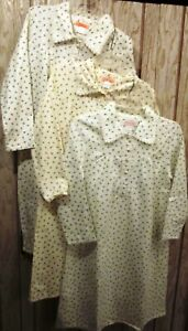 New 100% Cotton Flannel Night Gown M L X 2X