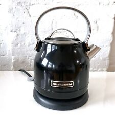 KitchenAid1.25-Liter Electric Tea Kettle Used Once in Onyx Black Voted Best F&W