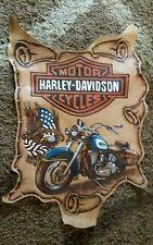 Harley Davidson Cuero Cueva de hombre/art