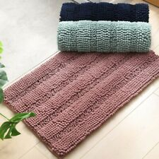 New ListingBath Mat For Bathroom Rugs Non Slip Ultra Thick And Soft Doormat Chenille Pads