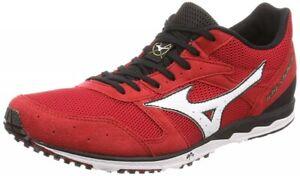 Mizuno Running shoes WAVE CRUISE 12 U1GD1760 Red × White × Black F/S