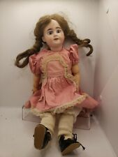 "16"" Antique Bisque Head & Composition German Dep Armand Marseille Doll Estate"