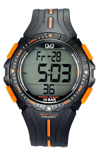 Q&Q  Original  Sport  Digital  Watch Men's   M102J002Y  10 BAR  M102J