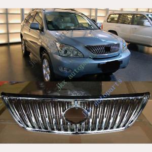 For LEXUS RX270 RX300 RX330 RX400h RX350 04-09 ABS Front Bumper j Mesh Grille