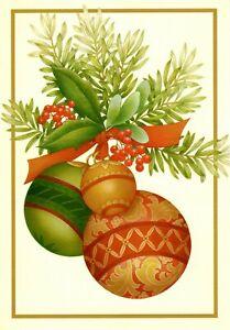 Spanish Feliz Navidad Ornaments & Holly Hallmark Sinceramente Greeting Cards