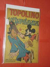 ALBO ORO N° 125-b-originale -1948-1°serie-DISNEY MONDADORI-topolino spaventapass