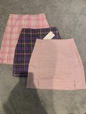 Brandy Melville Pink/ Purple Cara Skirt