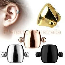 16G Shielded Cartilage Tragus Helix Barbell Ear Ring Body Piercing Jewellery