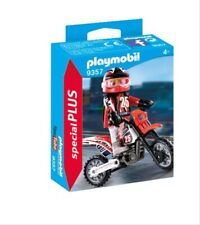 Playmobil motocross-conductor
