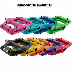 """Race Face Chester flat pedals 9/16"""",Multiple Color,New design"""