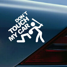 1x Don't Touch My Car Removable Car Sticker Window Bumper Decal Car Accessories