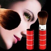 Cosmetic Brush Retractable Kabuki Blush Foundation Loose Powder Face  Makeup Too