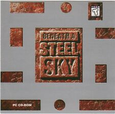 Beneath A Steel Sky (Full Version) (PC-CD, 1994) for DOS - NEW CD in SLEEVE