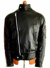 Vtg Leather 70s BELSTAFF Ace Motorcycle Biker Cafe Racer Brando Bike Jacket Coat