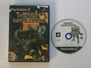 Robot Warlords - Playstation 2 PS2 Game PAL