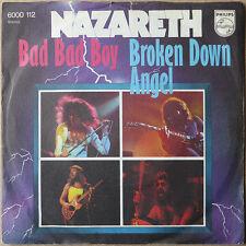 """7"""" Nazareth - Bad Bad Boy / Broken Down Angel - Deutschland 1973 - VG++"""