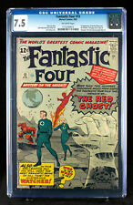 FANTASTIC FOUR #13 (1963) CGC 7.5 FIRST WATCHER and RED GHOST!!!  SUPER HTF!!!
