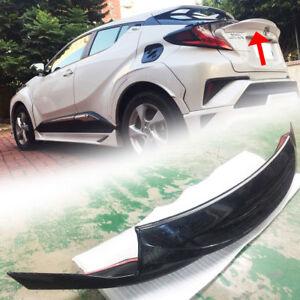 Transfer Printing Carbon For Toyota CHR C-HR SUV Trunk Spoiler Wing Gate Bodykit