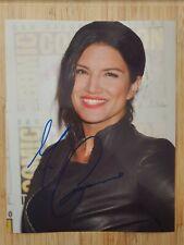 "Gina Carano   Hand Signed  Autograph  8x10"" Photo 2255450"