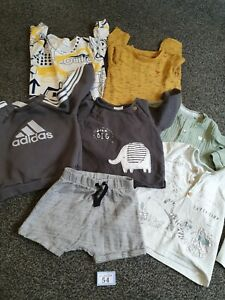 Baby Boys 6-9 Months Mixed Clothes Bundle (B54)