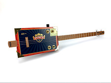 Cigar Box Guitar Punch Box 3 String Electro Acoustic Volume