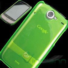 Custodia back cover rigida CRYSTAL NEON verde trasparente per Google Nexus ONE