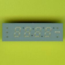 """5× CA25-12EWA RED LED CLOCK DISPLAY 7 SEGMENT 4×¼"""" DIGIT+7 INDICATOR CA DIP-24 †"""