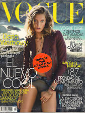 NEW! VOGUE ESPANA Issue No 304 July 2013 COVER DARIA WERBOWY Conde Nast SPAIN