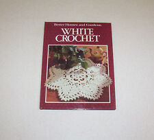"Better Homes & Garden ""White Crochet"" Pattern Book Hardback"