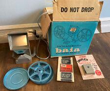 Vintage Baia Reviewer Mark II, 8mm Movie Editor, Reel & Splicer in Original Box