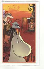 Moomin Greeting Card Riviera Mamma Pappa Karto