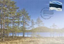 Estonia Flags Stamps 2020 FDC Estonian Flag E1.90 National Emblems 1v S/A Set