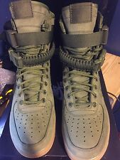Nike SF AF1 Special Field Boot Air Force Size 8 Olive Green 859202-339