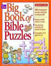 Big Bks.: Big Book of Bible Puzzles by Colleen Kennelly and Gospel Light Public…