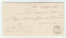 BC.304 -  Romania cover, Jassy Moldova, This postmark issued on 29.09.1859