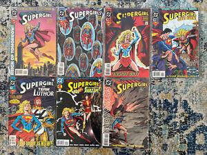 Supergirl DC Comics Bulk Lot x7