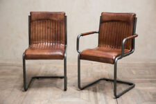 Industrial Leather Dining Room Furniture